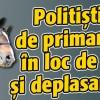 Politistii, umiliti de primari cu clop in loc de cascheta si deplasare calare