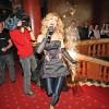 Cantareata Diana Matei a luat foc de la artificii