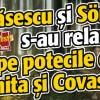 Basescu si Sörös s-au relaxat pe potecile din Harghita si Covasna