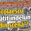 "Sergiu Nicolaescu si-a pregatit indelung ""Iesirea din scena""!"