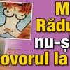 Mihaela Radulescu nu-si duce covorul la epilat