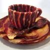 Nebunie curata! O sumedenie de lucruri uimitoare facute din bacon! (FOTO)