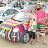 Primul VW Beetle… tricotat!
