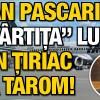 "Pascariu, ""cartita"" lui Tiriac la TAROM"