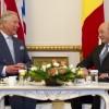 Printul Charles s-a intalnit cu presedintele Basescu, la Cotroceni