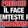 Predoiu il face nemteste pe Iohannis