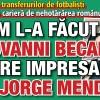 Cum l-a facut Giovanni Becali mare impresar pe Jorge Mendes