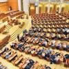 Motiunea de cenzura, supusa votului, la momentul de fata