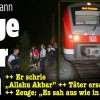 Atac sangeros intr-un tren german: patru pasageri raniti. Un suspect, impuscat (VIDEO)