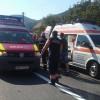 Grav accident de microbuz, pe DN 7: 9 oameni au ajuns pe mana medicilor