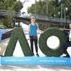 Simona Halep, VIP in Australia!