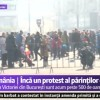 Noua manifestare parinti + copii in fata sediului Guvernului
