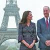 Kate si William, pelerinaj la Paris