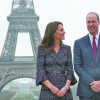 Kate si William, pelerinaj la Paris