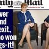 Brexit, batalia pe picioare si fuste