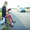 Prostituata care citeste Dostoievski pe centura