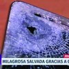 A fost impuscat in piept, dar telefonul Huawei i-a salvat viata!