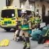 Un camion a dat peste un grup de oameni in capitala Suediei