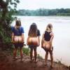 Un nou trend pe Instagram: cu fundu-n natura