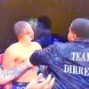Haos total! A intrat in ring si l-a facut KO pe adversarul nepotului sau
