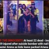 Atac terorist la Manchester: explozie soldata cu 22 morti la concertul Arianei Grande