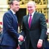 Macron,  primul skanderberg cu Putin