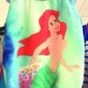 Socant! Costume de baie pentru fetite, cu printesa Ariel topples