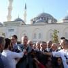 Erdogan a lesinat in moschee