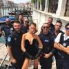 Bella Hadid a incins politia italiana