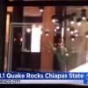 Cutremur de 8.1 grade in largul coastelor Mexicului (VIDEO)