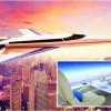 "Jetul supersonic ""capabil sa traverseze Atlanticul in trei ore"" a trecut primul zbor de incercare"