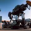 Robot rusesc de lupta, construit de liceeni romani