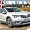 Asa arata noua Dacia Sandero