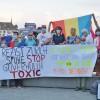 Pe malul Lacului Leman se protesteaza high class