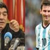 Maradona, atac la Messi