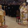 Slujba de Sfantul Andrei, oficiata la Catedrala Nationala de catre Patriarhii Daniel si Teofil al Ierusalimului