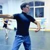 "Celebrul dansator Oliver Matz, la workshopul ""La Sylphide Ballet School"""