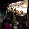 32 de oameni, evacuati din cauza unui incendiu intr-un bloc din Botosani (FOTO)