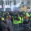 Protest la Paris. Imagini live din capitala Frantei (VIDEO)