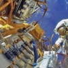 Rusii repara gaurica Statiei Orbitale Internationale