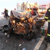 Accident cu urmari grave: un mort si doi raniti, in Giurgiu