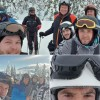 Foto: Klaus Iohannis, #cabăieții la schi