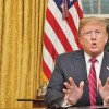 Trump vrea acum zid de otel