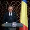 Donald Tusk a impresionat cu un discurs integral in romana (VIDEO)