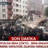 O cladire s-a prabusit in Istanbul. Imagini de la fata locului