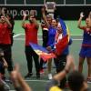 FED CUP. Imagini superbe de la finalul infruntarii cu Cehia. Reactia Simonei dupa calificarea in semifinale