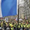 Vestele galbene si sindicalistii  intra in greva nationala