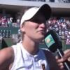 Ce a declarat jucatoarea ceha de 19 ani, dupa ce a invins-o pe Halep la Indian Wells