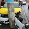 Cap tractor scapat de sub control, in Capitala: mai multe masini lovite