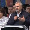 Dragnea, la mitingul de la Craiova: Iohannis este ingrozit de noi